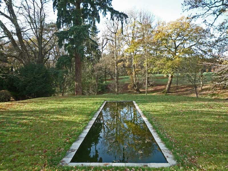 Formal pond completed.