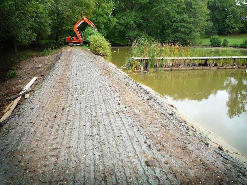 Victorian lake restoration and improvements