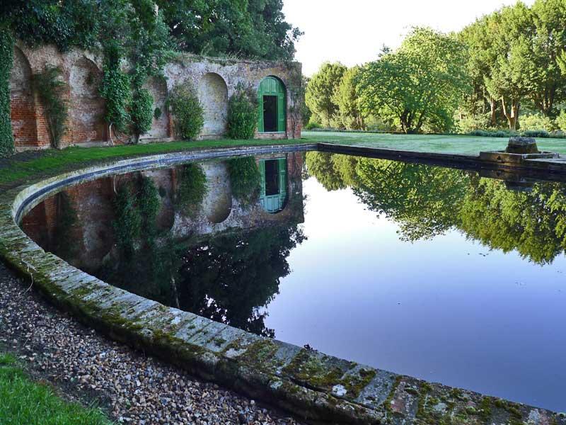 Half moon pond, Albury Estate, Guildford