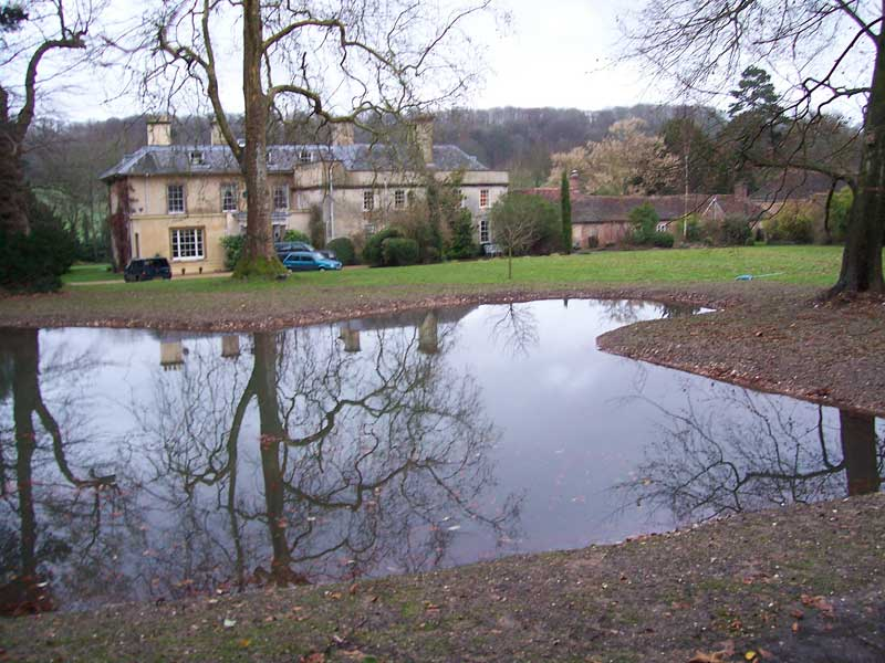 Natural pond construction, Hampshire